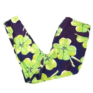LuLaRoe Shamrock St Patricks Day Leggings